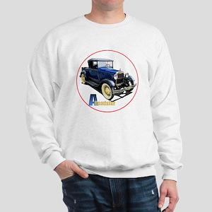 Aroadster-blue-C8trans Sweatshirt