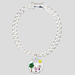 cousinsrock6 Charm Bracelet, One Charm