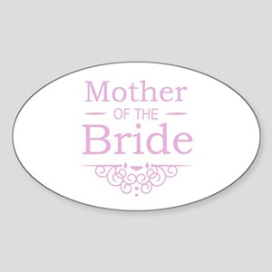 Mother of the Bride pink Sticker