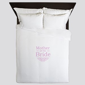 Mother of the Bride pink Queen Duvet