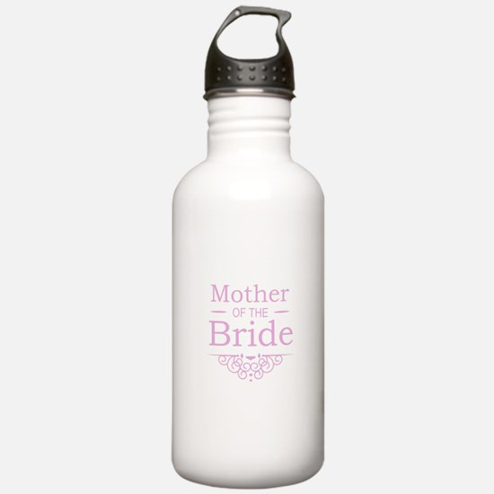 Mother of the Bride pink Sports Water Bottle