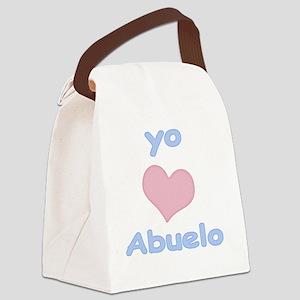 2-yo amo abuelo Canvas Lunch Bag
