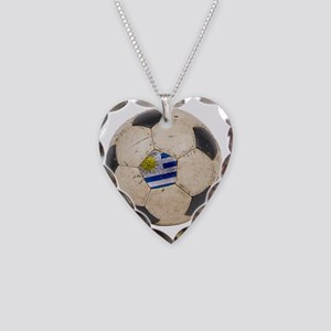 Uruguay World Cup4 Necklace Heart Charm