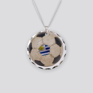 Uruguay World Cup4 Necklace Circle Charm