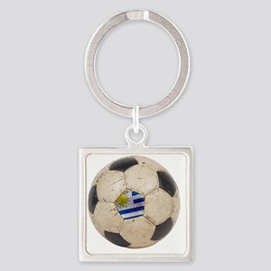 Uruguay World Cup4 Square Keychain
