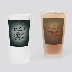 to-thy-own-self-be-true_b Drinking Glass