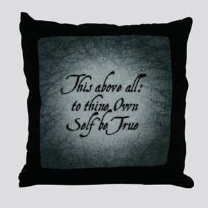 to-thy-own-self-be-true_b Throw Pillow
