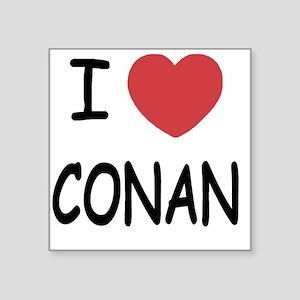 """CONAN01 Square Sticker 3"""" x 3"""""""