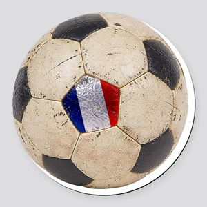 France World Cup4 Round Car Magnet