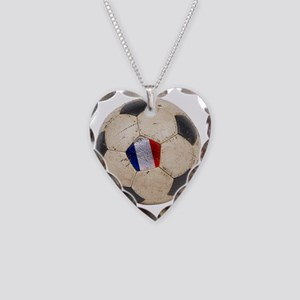 France World Cup4 Necklace Heart Charm