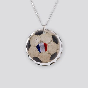 France World Cup4 Necklace Circle Charm