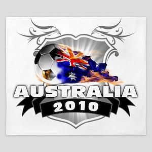 AUSTRALIA World Cup 2010 King Duvet