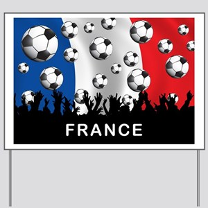 France World Cup5 Yard Sign