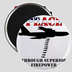 peace b52 Magnet