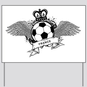 France World Cup6 Yard Sign