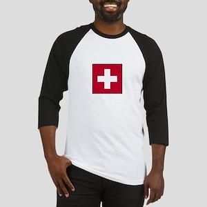 Swiss Flag - Switzerland Baseball Jersey