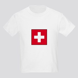 Swiss Flag - Switzerland Kids T-Shirt
