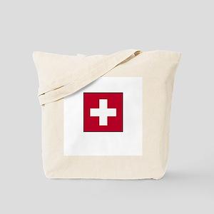 Swiss Flag - Switzerland Tote Bag