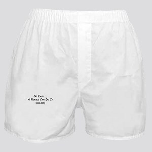 So Easy Anal.com Boxer Shorts