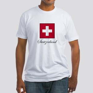 Switzerland Fitted T-Shirt