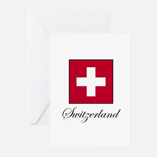 Switzerland Greeting Cards (Pk of 10)