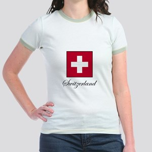 Switzerland Jr. Ringer T-Shirt