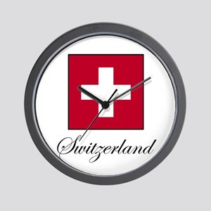 Switzerland Wall Clock