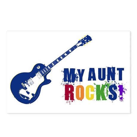 Blue Guitar_Aunt Postcards (Package of 8)