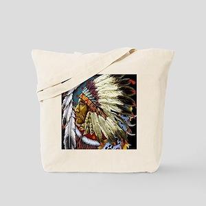 CHIEF WHITE CLOUD Tote Bag