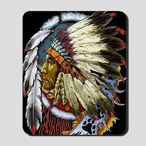 CHIEF WHITE CLOUD Mousepad