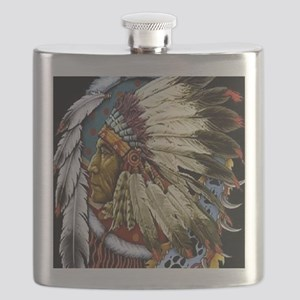 CHIEF WHITE CLOUD Flask