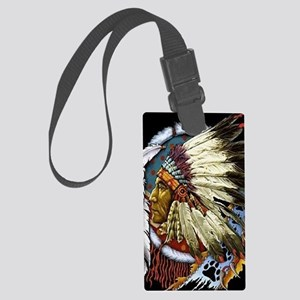 CHIEF WHITE CLOUD Large Luggage Tag