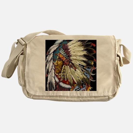 CHIEF WHITE CLOUD Messenger Bag