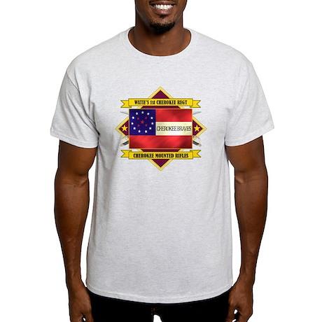1st Cherokee Regt (5.1) Light T-Shirt