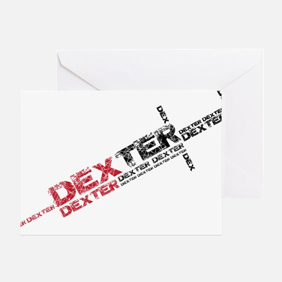 Dexter Injection Needle Greeting Card