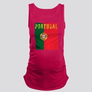 portugal flag Maternity Tank Top