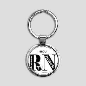 nicu-rn-o Round Keychain