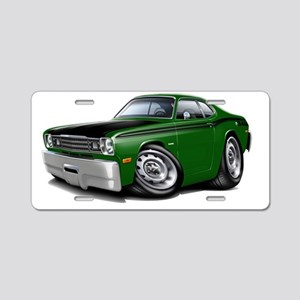 1970-74 Duster 340 Green Ca Aluminum License Plate