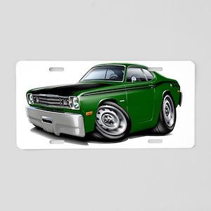 1970-74 Duster 340 Green Ca Aluminum License Plate