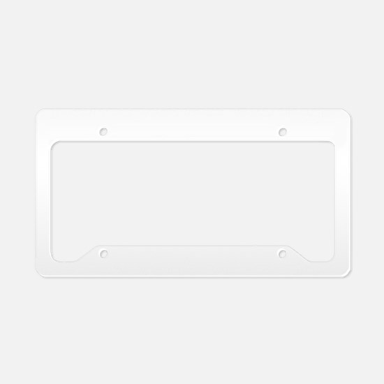 I Am a Neutral Country 2 License Plate Holder