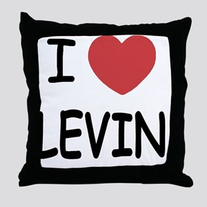 LEVIN01 Throw Pillow