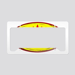 newkayakrainbow1 License Plate Holder