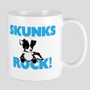 Skunks rock! Mugs