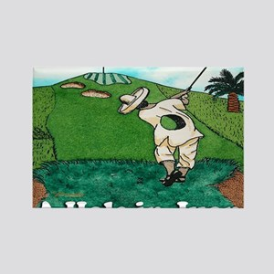 A HOLE IN JUAN greeting card Rectangle Magnet