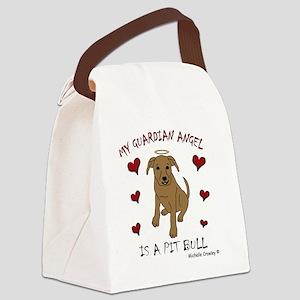 PitBullTan Canvas Lunch Bag