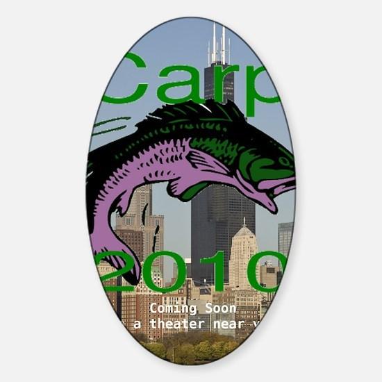 carp_coming_soon_caption Sticker (Oval)