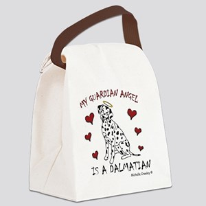 Dalmatian Canvas Lunch Bag