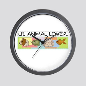 Li'l Animal Lover Wall Clock