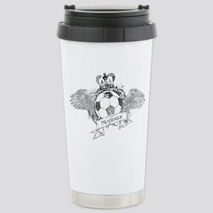 Denmark Football4 Stainless Steel Travel Mug