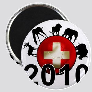 Switzerland Football2 Magnet